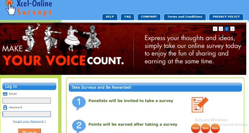 internet based surveys that pays cash
